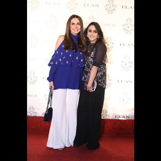 Aamna Taseer and Muneeze Khalid