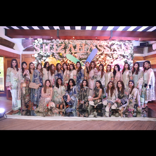 All the ladies shining in Shiza Hassan Lawn