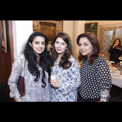 Fizza, Ayesha and Sidra