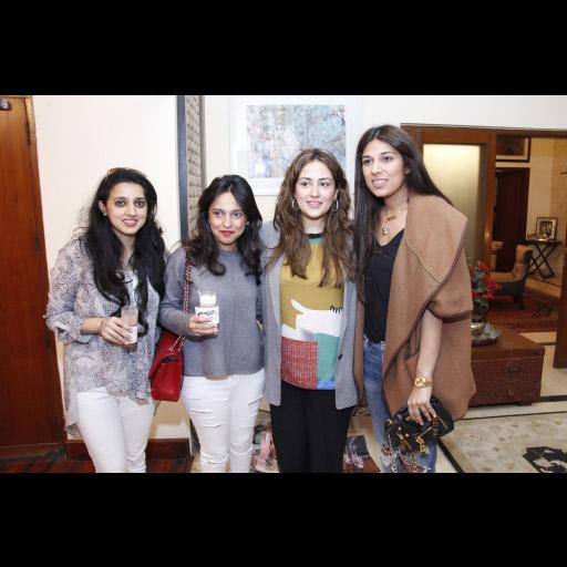 Fizza, Nida, Alizeh, and Maira