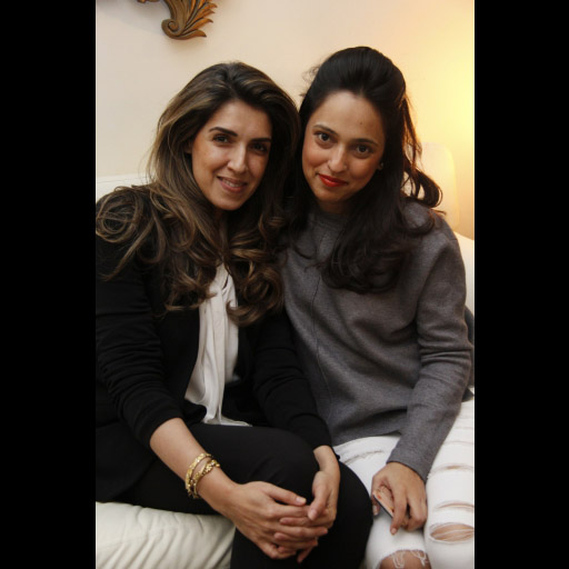 Maheen Karim and Nida Azwer