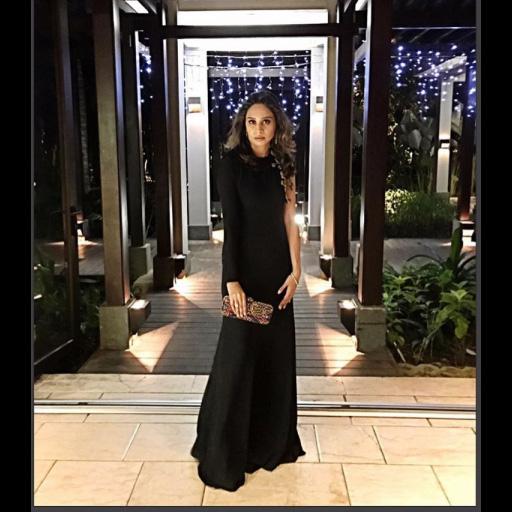 Meeral Malik at the Ritz Carlton in Bali