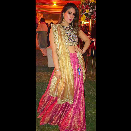 Rabia Rizvi at a wedding
