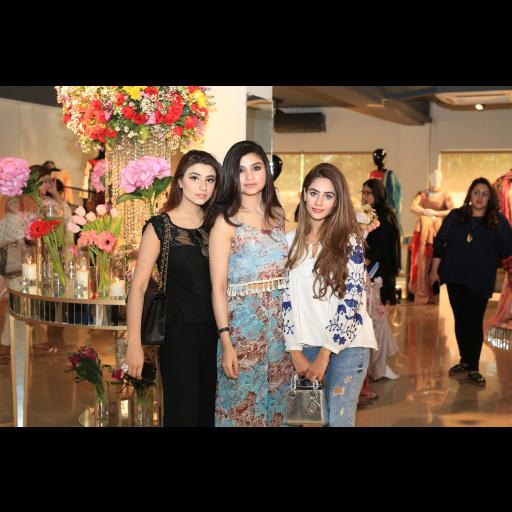 Neha Maneka, Zoya Nasir and Shanzay Sheikh