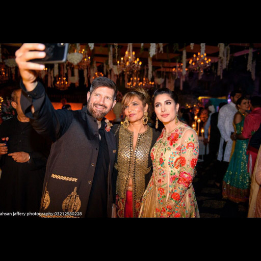 Tapu Javeri, Frieha Altaf and Mehwish Hayat