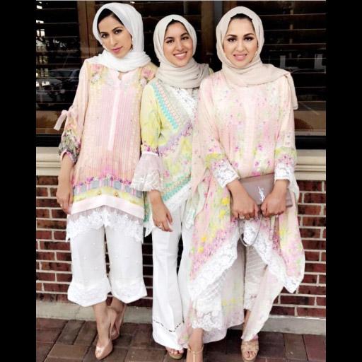 Ladies in Farah Talib Aziz Luxe