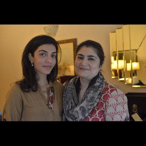 Zehra Qadir and friend