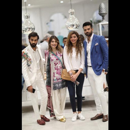 Hasnain Lehri, Amna Babar, Rabia Butt and Adnan Malik