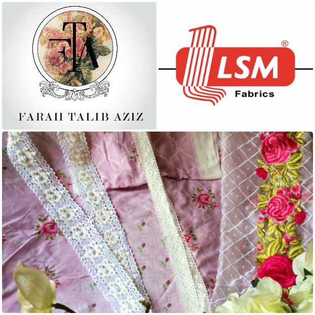 Farah Talib Aziz Collaborates with Lakhany Silk Mills for their Debut Spring/Summer'15 Lawn Collection
