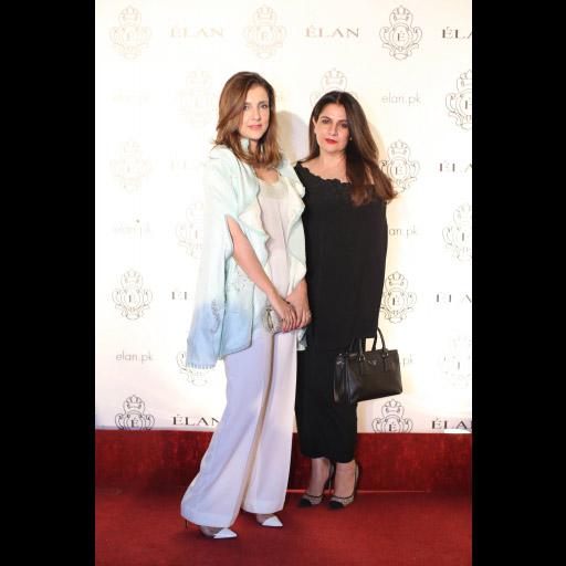 Sadia Hameed and Nadia Nadeem