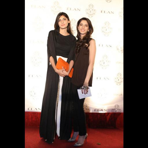 Salama Shayan and Fatima Zulfiqar