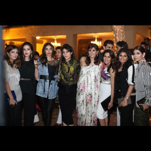 Saleeha, Deena, Ayesha, Attiya, Khadijah, Momina, Gauhar and Amna