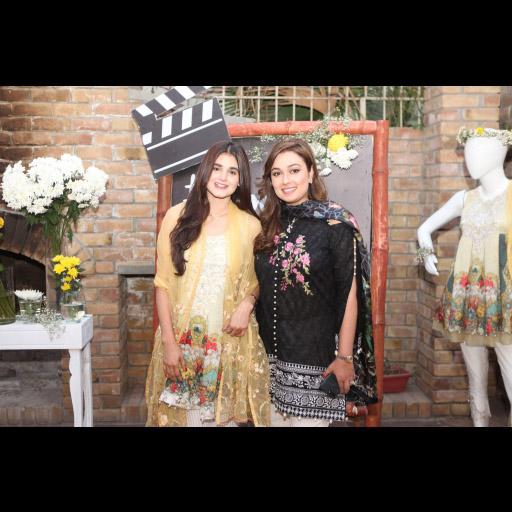 Hira Mani and Saadia Asad