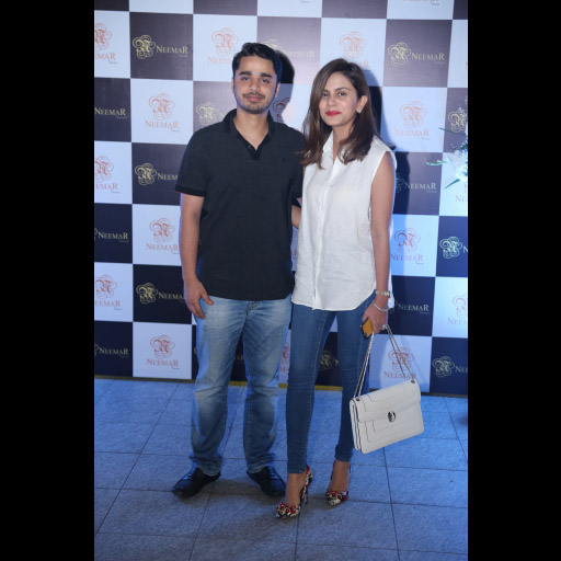 Azeem Paul and Natasia