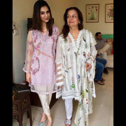 Farida Hasan and Khuban in Farida Hasan