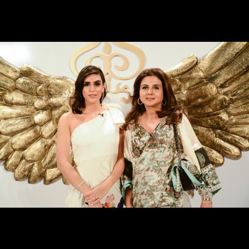 Sayeeda Laghari and Anusheh Shahid