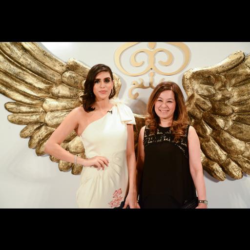 Shazia with Anusheh Shahid