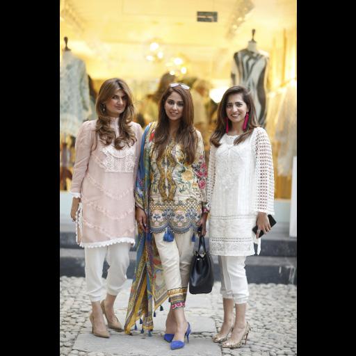 Ayesha Sohail, Saira Rizwan, Somaya Adnan