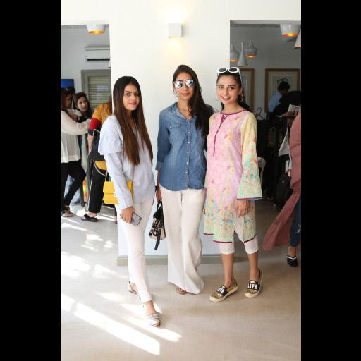 Samar, Alina and Yasmeen