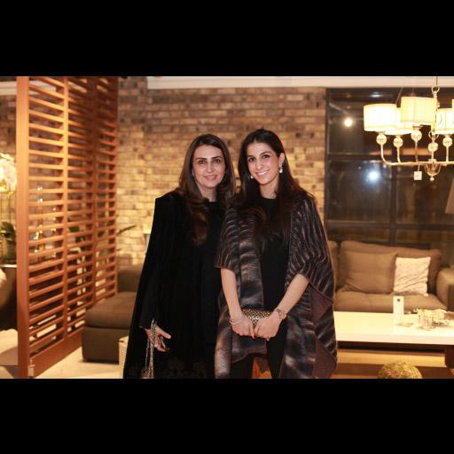 Aamna Taseer and Shehrbano Taseer