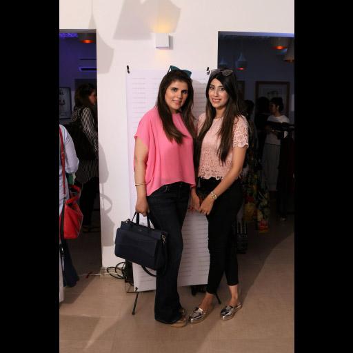 Samia Shahzada and Mariam D Rizwan