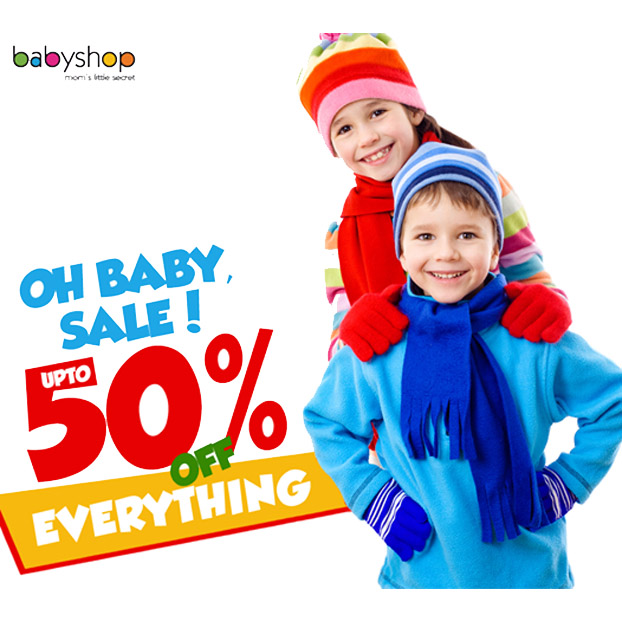 Babyshop Grand Sale Upto 50% Off!