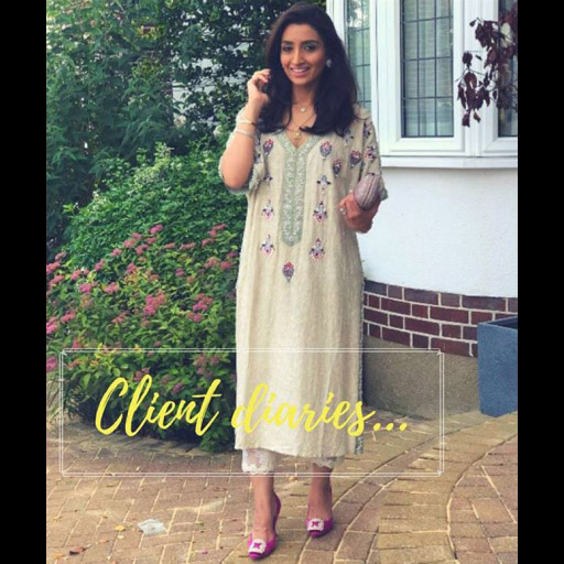 Spotted wearing Hina Mohommad