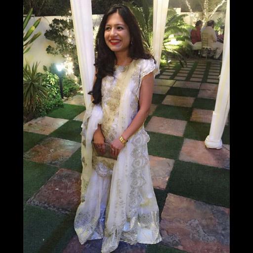 Khadija in a KA formal