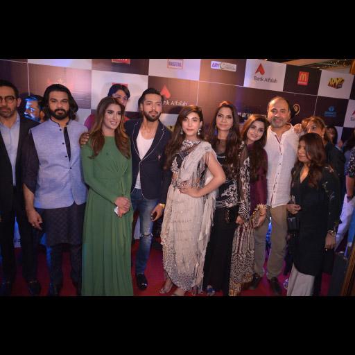 Shahzad, Mehwish, Fahad, Urwa, Mrs Humayun, Sana and Deepak