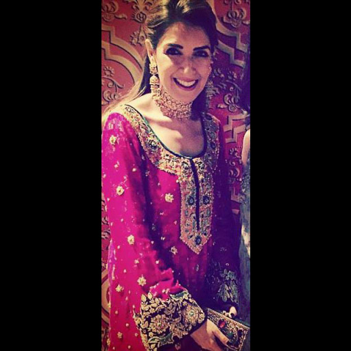 Maheen Karim beautiful in her own traditional Wedding Wear