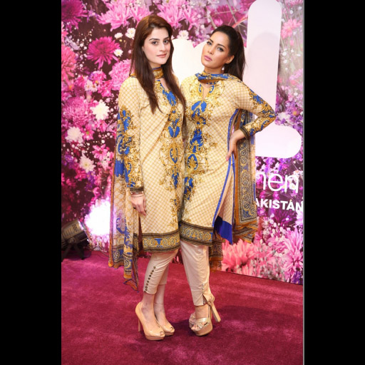 Amna Malik and Saima Azhar