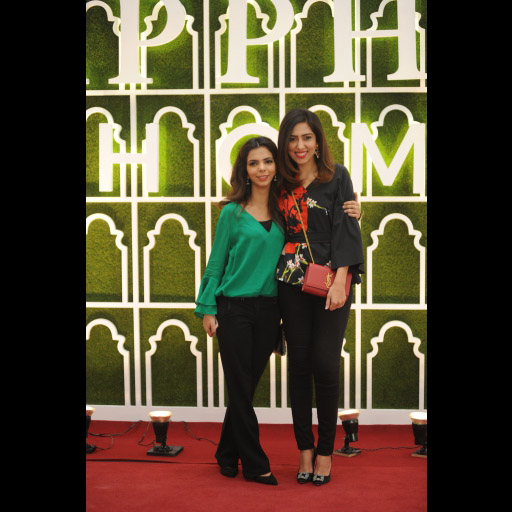 Shireen Rehman and Natasha Saleem