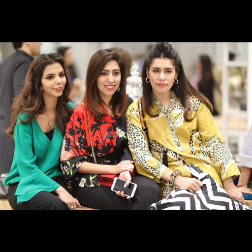 Shireen Rehman, Natasha Saleem and Mahnum Kabir