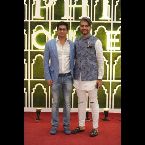 Sibtain Haji and Yousaf Shahbaz