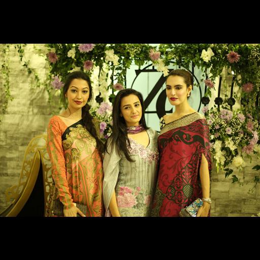 Rubya, Momal and Nadia
