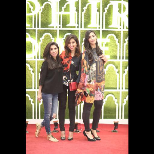 Tanya, Natasha and Saira