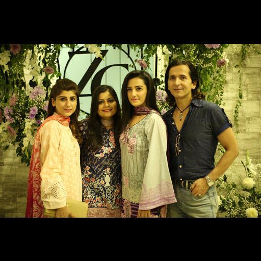 Saba, Zainab, Momal and Zurain