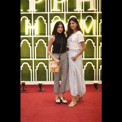 Zara Peerzada and Anam Malik
