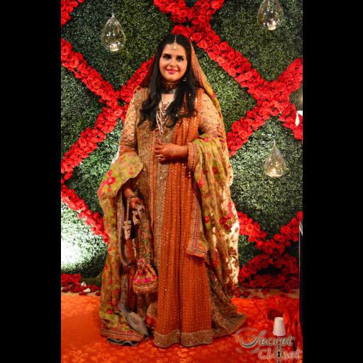 Seveen Muneer stunning bride in  Sana Safinaz