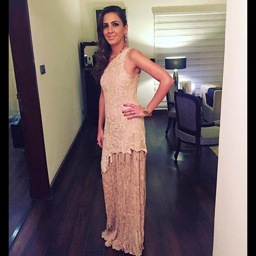 Tehmina in Umaima Mustufa Couture