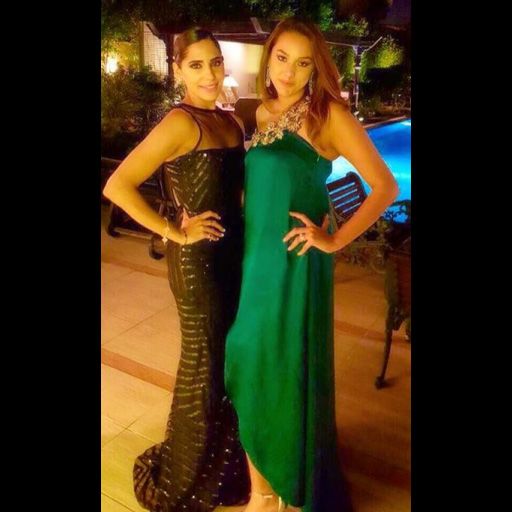 Maha Ahmad Hussain and Sonya Jamil at the Sindh Club Winter Ball