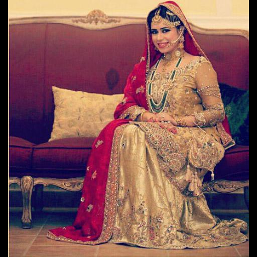 Classic glamour by Ammara Khan