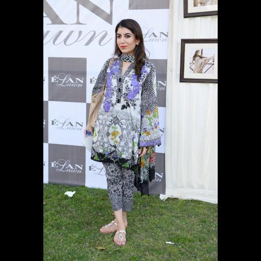 Ayla wearing Elan Lawn