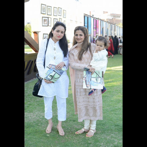 Farah Siddiqui and Amna Liaqat