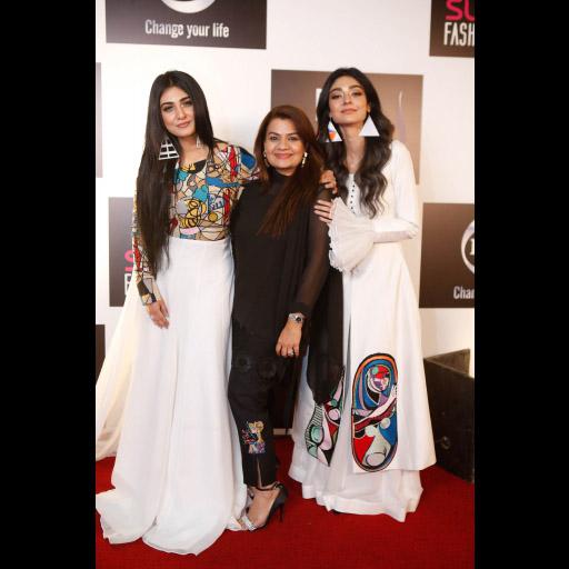 Sarah, Mona Imran and Noor