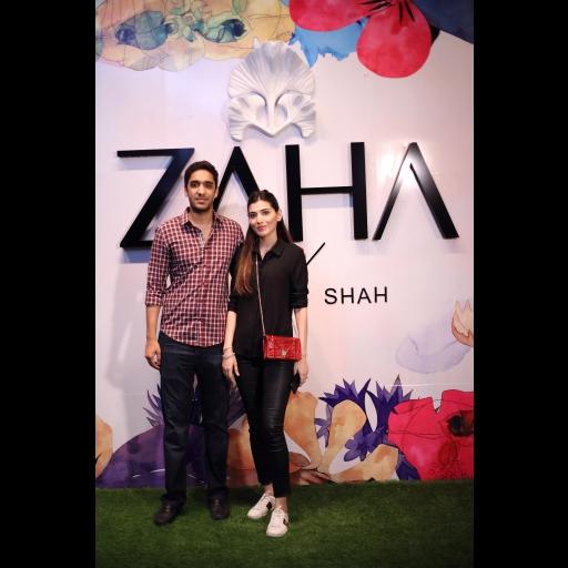 Ali Amer and Alizeh Ali