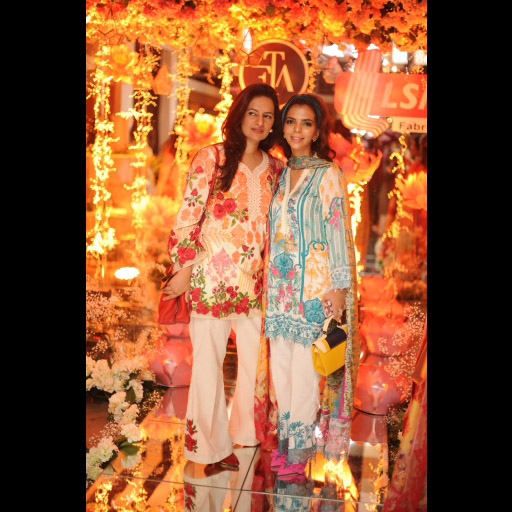 Sadaf Fawad and Shireen Rehman