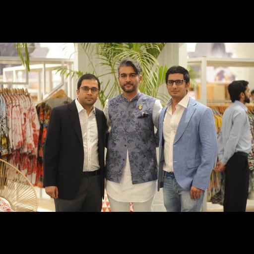 Nabeel Abdullah, Yousaf Shahbaz and Sibtain Haji