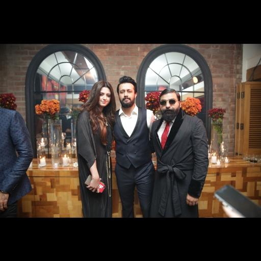Sara Bharwana, Atif Aslam and Ali Xeeshan