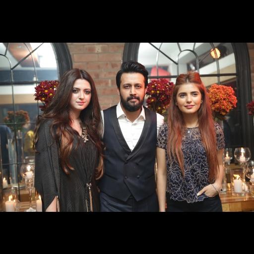 Sara Bharwana, Atif Aslam and Momina Mustehsan